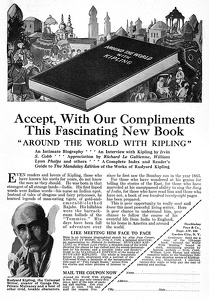Kipling's Mandalay Edition -1926B