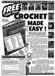 Complete Book of Crochet -1947A