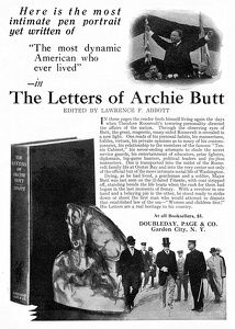 Letters of Archie Butt -1924A