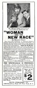 Woman and the New Race -1921A