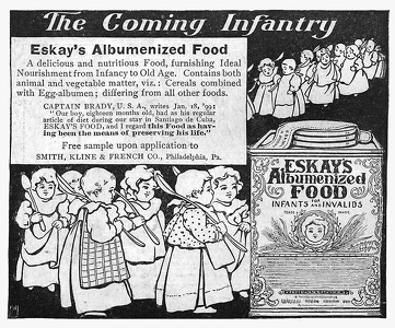 Eskay's Albumenized Food -1899A