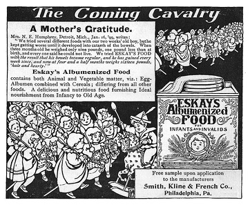 Eskay's Albumenized Food -1899B
