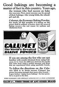 Calumet Baking Powder -1924A