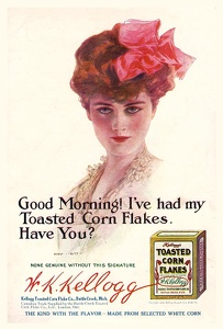 Kellogg's Toasted Corn Flakes -1910B