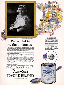 Borden's Condensed Milk -1923A