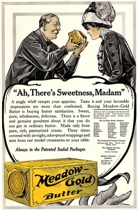Meadow Gold Butter -1912A