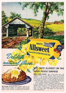 Swift's Allsweet Margarine -1948A