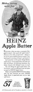 Heinz Apple Butter -1921A