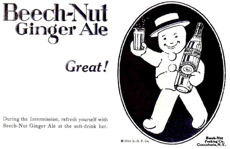 Beech-Nut Ginger Ale -1919A