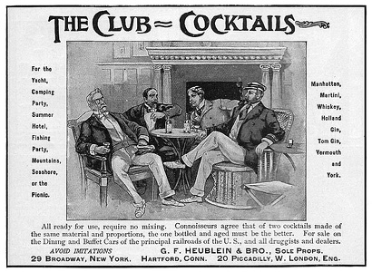 Heublein Club Cocktails -1903A