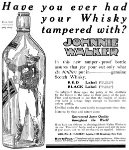 Johnnie Walker Scotch Whisky -1912A