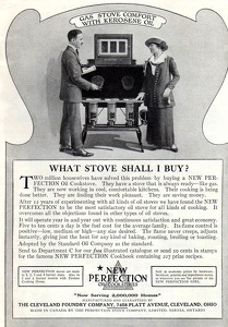 New Perfection Stoves -1915A