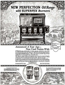 New Perfection Stoves -1923A