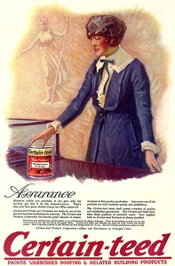 Certain-teed Paints and Varnishes -1919A