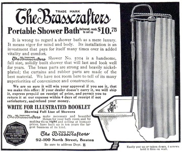 Brasscrafters Shower Baths -1909A
