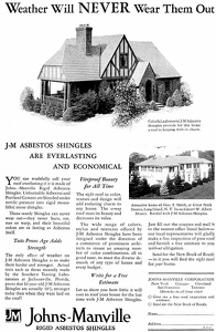Johns-Manville Asbestos Roofing -1929A