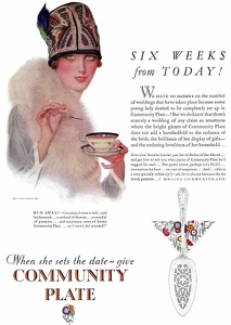 Community Plate -1927A