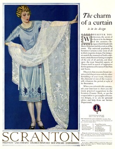 Scranton Lace Curtains -1921A