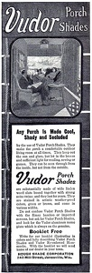 Vudor Porch Shades -1909A