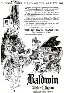 Baldwin Pianos -1926A
