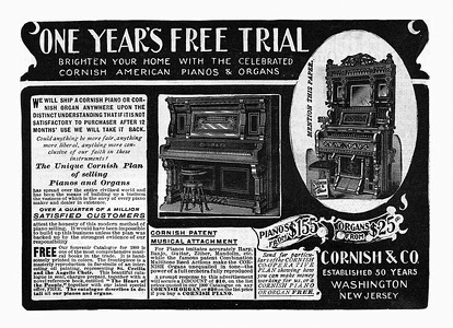 Cornish Pianos -1900A