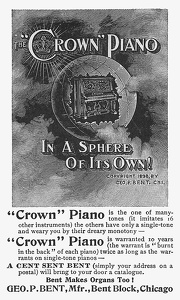 Crown Pianos -1899A
