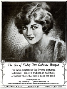 Cashmere Bouquet Soap -1922A