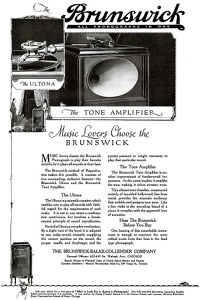Brunswick Phonographs -1919B