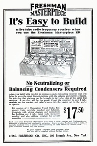 Freshman Radio Kit -1924A
