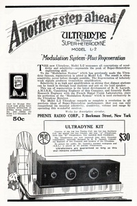 Phenix Radio Ultradyne Kit -1924A