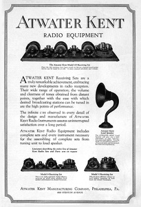 Atwater Kent Radios -1923A