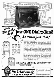 Mohawk Receivers -1925A