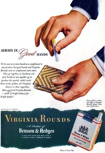 Benson and Hedges Cigarettes -1944A