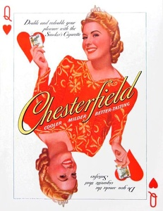 Chesterfield Cigarettes -1940F