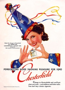Chesterfield Cigarettes -1940G