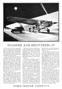 Ford Airplanes -1929A