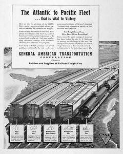 GATX Railroad Cars -1942A
