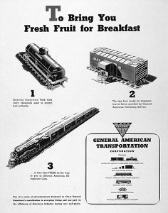 GATX Railroad Cars -1944A