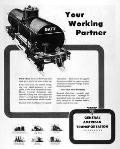 GATX Railroad Cars -1945B