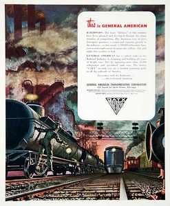 GATX Railroad Cars -1947A