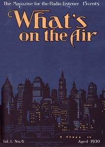 What's On the Air 1930-04