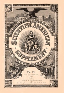 Scientific American Supplement 1878 Volume VI Title