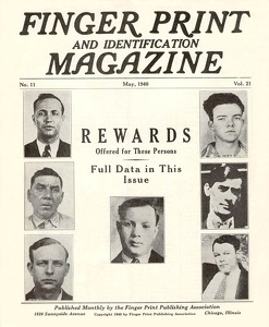 Finger Print and Identification Magazine 1940-05