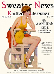 Sweater News 1928-07