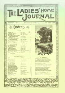 Ladies' Home Journal 1892-08