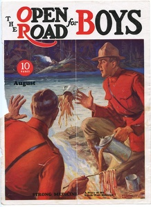 Open Road for Boys 1932-08