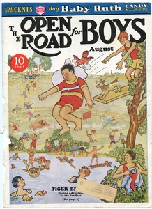Open Road for Boys 1933-08