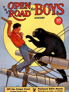 Open Road for Boys 1934-08