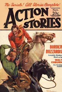 Action Stories 1928-11