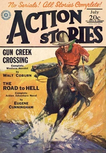 Action Stories 1929-07